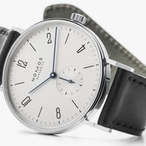 NOMOS Tangente 38 Steel 37.5mm White Arabic numerals United States of America, New Jersey, Princeton