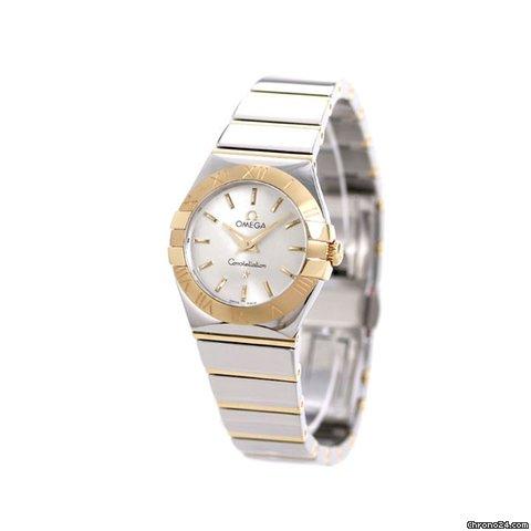 low priced 263e1 69671 Omega オメガ コンステレーション レディース 腕時計 123.20.24.60.02.004 OMEGA シルバー×イエローゴールド