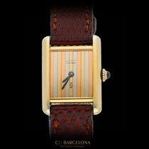 Cartier Plata Cuarzo 23mm usados
