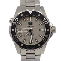 TAG Heuer Aquaracer 500M Steel 44mm Silver United States of America, New York, New York