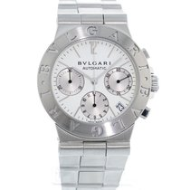 Bulgari Steel 35.5mm Automatic CH 35 S pre-owned