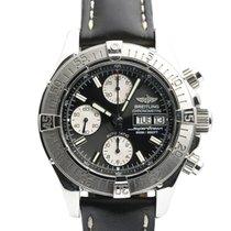 Breitling Superocean Chronograph II Steel 42mm Black