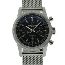 Breitling Transocean Chronograph 38 Steel Silver United States of America, California, Los Angeles