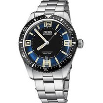 Oris new Automatic Luminescent Hands Luminous indexes 40mm Steel Sapphire crystal
