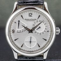 Jaeger-LeCoultre Master Réserve de Marche Steel 37mm Silver Arabic numerals United States of America, Massachusetts, Boston