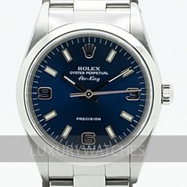 Rolex Air King Precision Stål 34mm Blå Sverige, Stockholm