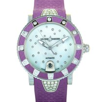 Ulysse Nardin Lady Diver pre-owned Mother of pearl Date Rubber