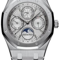 Audemars Piguet Royal Oak Perpetual Calendar Steel 41mm Silver No numerals United States of America, New York, New York
