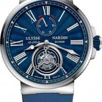 Ulysse Nardin Marine Tourbillon Steel 43mm Blue Roman numerals United States of America, Florida, Sunny Isles Beach