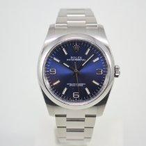 Rolex Oyster Perpetual 36 Staal 36mm Blauw Arabisch Nederland, Franeker