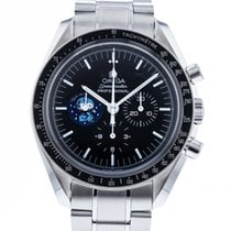 Omega Speedmaster Professional Moonwatch Stål 41mm Svart Ingen tall