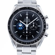 Omega Speedmaster Professional Moonwatch Steel 41mm Black No numerals