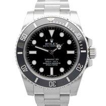 Rolex Submariner (No Date) Acero 40mm Negro