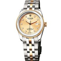Tudor 53003-0006 Glamour Date in Steel and Yellow Gold - on...