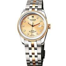 튜더 (Tudor) 53003-0006 Glamour Date in Steel and Yellow Gold -...