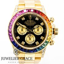 Rolex Daytona  18K Rainbow Diamonds Diamanten Aftermarket