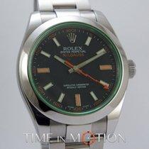 Rolex Oyster Perpetual Milgauss 116400 GV Full Set 2010