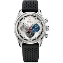 Zenith El Primero 36'000 VpH new Automatic Chronograph Watch with original box and original papers 03.2040.400/69.R576
