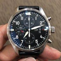 IWC Pilot Chronograph Triple Date Complete Set