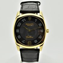 Rolex Cellini Danaos Yellow gold 34mm Black Arabic numerals United States of America, Florida, Miami