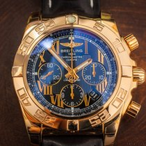 Breitling  CHRONOMAT 44 ROSE GOLD 18K Warranty Box & Papers