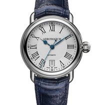Aerowatch new Automatic Guilloche Dial 40,00mm Steel Sapphire Glass