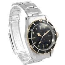 Rolex Submariner Vintage James Bond Big Crown Steel Mens Watch...