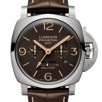 Panerai Luminor 1950 8 Days GMT Titan 47mm Schwarz Deutschland, Baden Baden