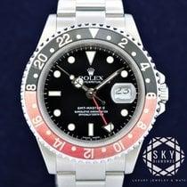 Rolex GMT-Master II Steel 40mm Black No numerals United States of America, New York, NEW YORK