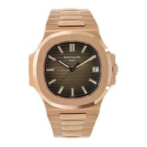 Patek Philippe Nautilus Rose gold 40mm Brown No numerals United States of America, New York, New York