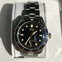 Oris Divers Sixty Five pre-owned 40mm Black Date Steel