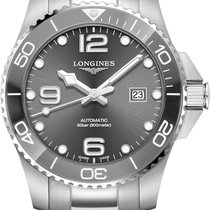 Longines HydroConquest Steel 43mm Grey United States of America, New York, Airmont