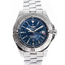 Breitling Colt Automatic Steel 41mm Blue No numerals United Kingdom, Derby