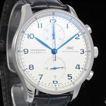 IWC Portugieser Chronograph neu 2017 Automatik Chronograph Uhr mit Original-Box und Original-Papieren IW371417