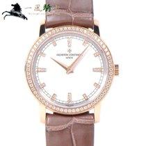 江诗丹顿 女士錶 Patrimony 30mm 石英 二手 附正版包裝盒和原版文件的手錶