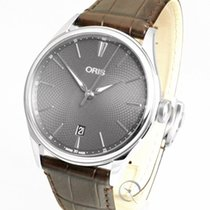 Oris Artelier Date Steel 40mm Grey