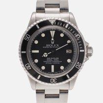 Rolex Sea-Dweller Acél 40mm Számjegyek nélkül