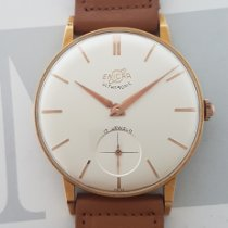 Enicar new Manual winding 35mm Gold/Steel