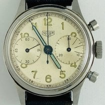 Heuer HEUER CHRONOGRAPH STAINLESS STEEL VALJOUX 23 MILITARY 1947 1947 pre-owned