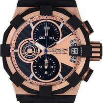 Concord Rose gold 44mm Chronograph 0320054 new