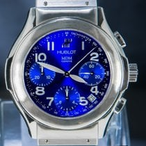 Hublot Elegant Steel 40mm Blue Arabic numerals