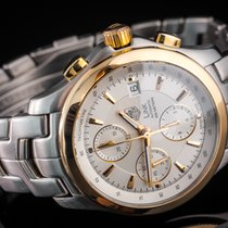 TAG Heuer Link Calibre 16 Gold/Steel 42mm Silver