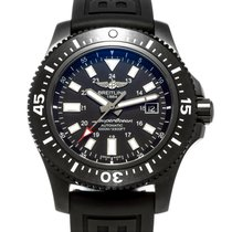 Breitling Automatic Black 44mm pre-owned Superocean 44