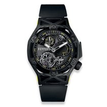 Hublot Techframe Ferrari Tourbillon Chronograph Carbono 45mm Transparente Sin cifras