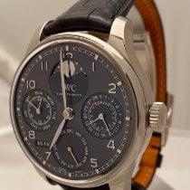 IWC Portuguese Perpetual Calendar nieuw 2020 Automatisch Horloge met originele doos en originele papieren IW503301