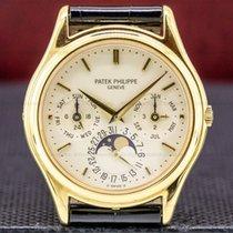 Patek Philippe Perpetual Calendar Gulguld 36mm Silver
