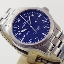 Fortis B-42 Flieger Day-Date top condition 655.10.158