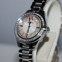 Ebel Onde Steel 30mm Mother of pearl No numerals