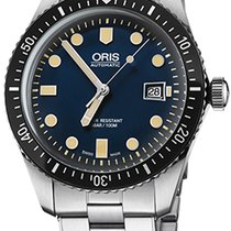 Oris Steel Automatic Blue new Divers Sixty Five