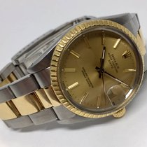 Rolex Oyster Perpetual Two Tones Automatic Men's  34 mm